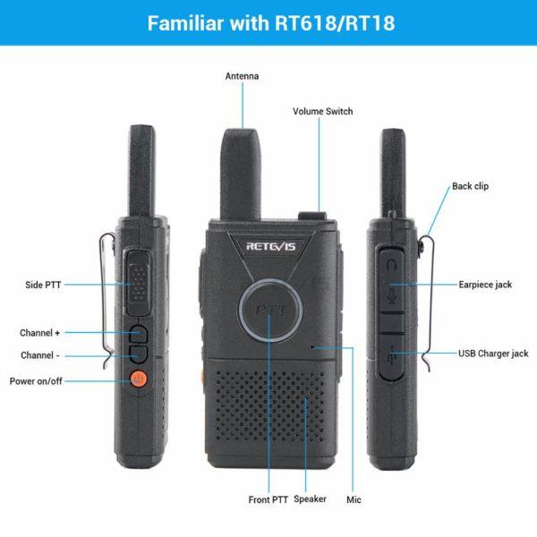 RETEVIS RT618/RT18 (2 шт.) 1