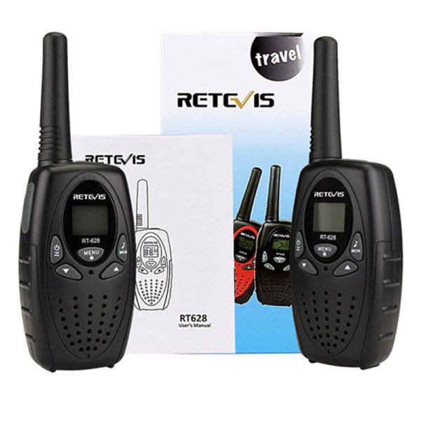 RETEVIS RT628 Mini Walkie Talkie 2pcs Kids Radio 0.5W PMR PMR UHF Frequency Portable Radio Station Handheld Radio Christmas Gift 5